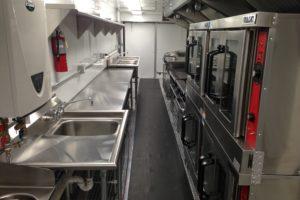 Kitchen Trailer Interior